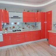 """Кухня """"Памела"""", цвет - коралл."""