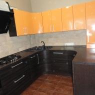 """Кухня """"Анастасия"""",  цвет -  венге, оранжевый."""