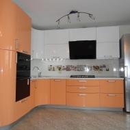 "Кухня ""Памела"", цвет - персик, белый."