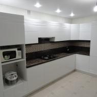 """Кухня """"Анастасия"""",  цвет -белый."""