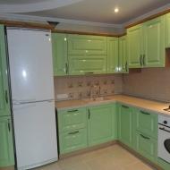 "Кухня ""Анастасия"",  цвет -фисташка."