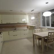 """Кухня """"Памела"""", цвет - ваниль."""
