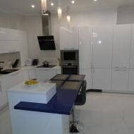 """Кухня """"Памела"""", цвет - белый."""
